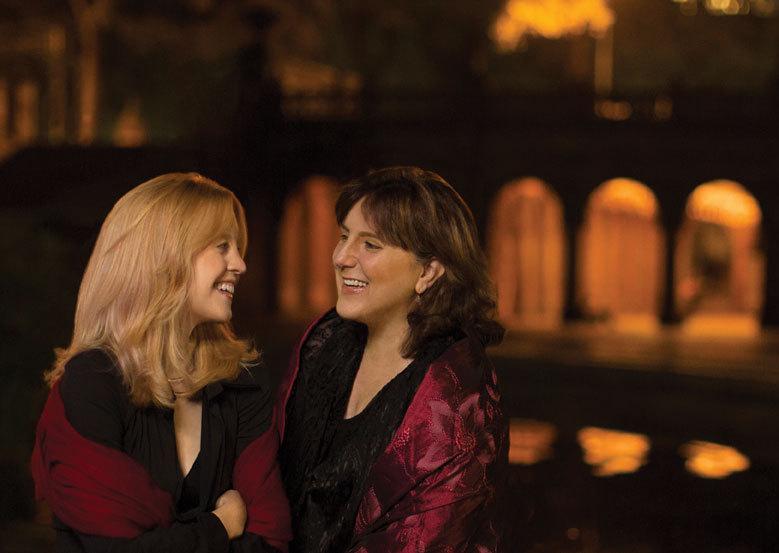 Maria Schneider and Dawn Upshaw