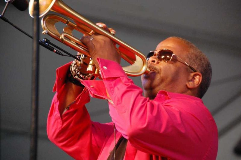Terence Blanchard at New Orleans Jazz Fest 2013