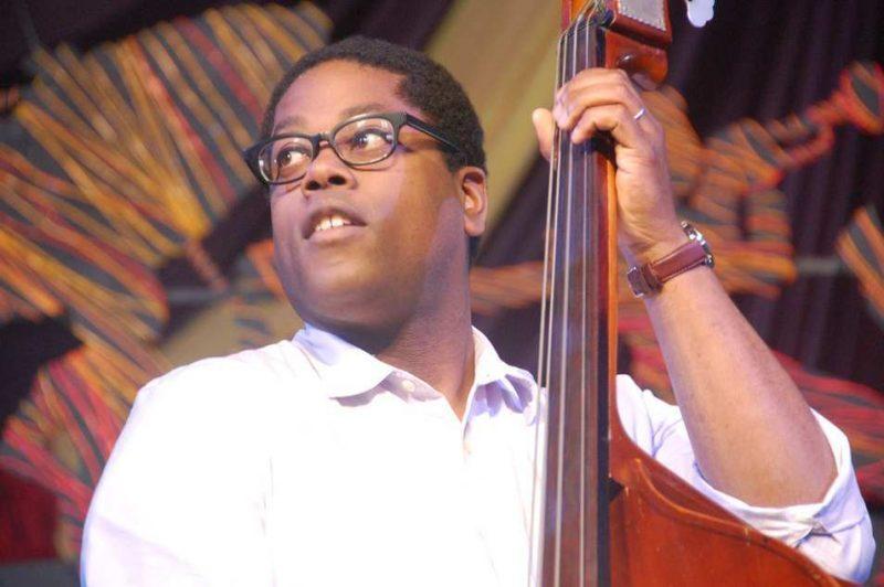 Vicente Archer at New Orleans Jazz Fest 2013