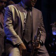 Wynton Marsalis performing at the 2011 Newport Jazz Festival image 0
