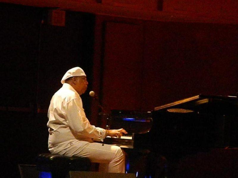 Chucho Valdés in concert at the Centro de Bellas Artes in Puerto Rico on June 22, 2013