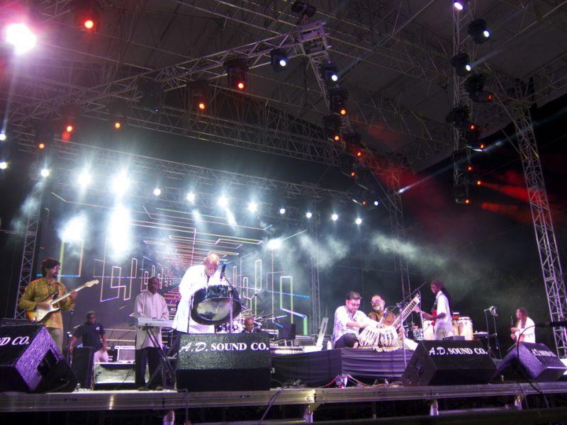 Mungal Patasar and Pantar, Tobago Jazz Experience, April 2013