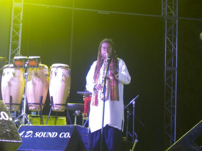 Dawud Orr (performing with Mungal Patasar and Pantar), Tobago Jazz Experience, April 2013