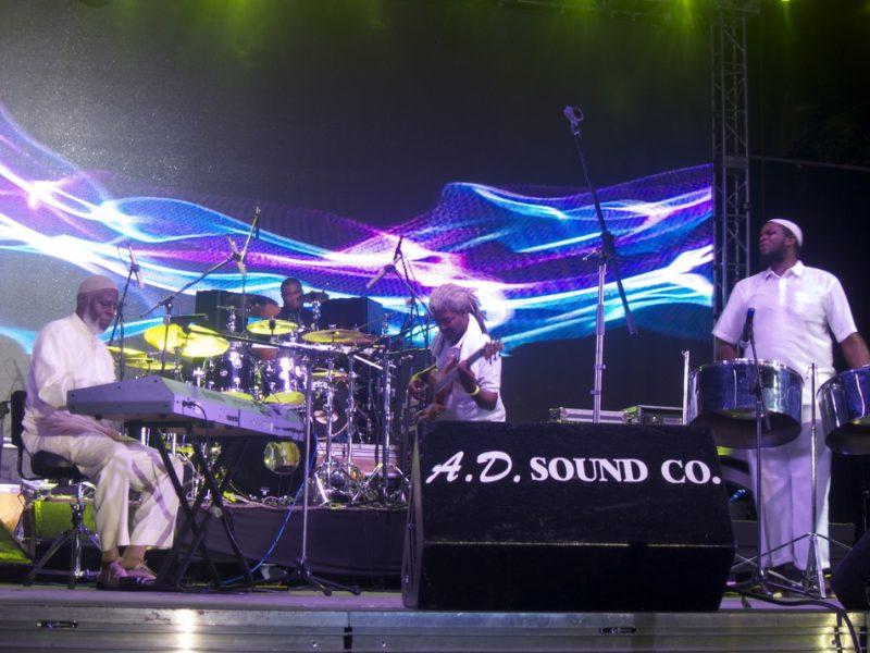 Carlton Alexander and the Coal Pot Band, Tobago Jazz Experience, April 2013