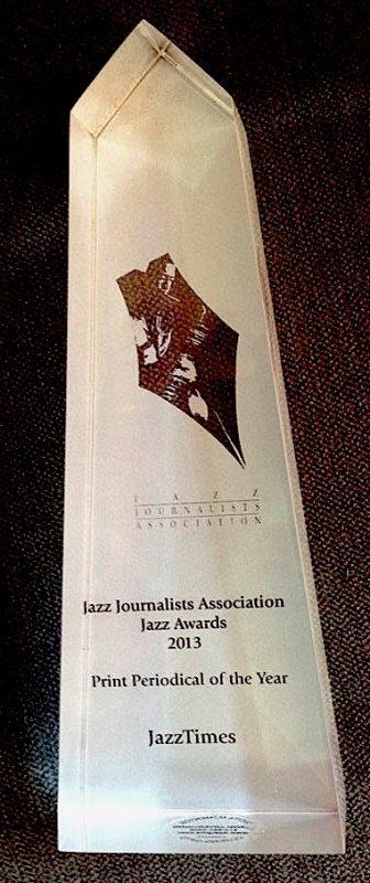 Jazz Journalists Association award for Best Jazz Print Periodical 2013
