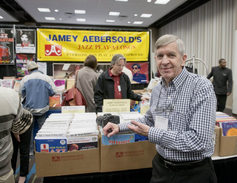 Jamey Aebersold at the JEN Conference Jan. 2013