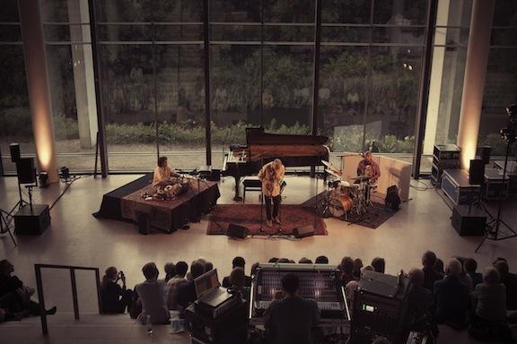 Charles Lloyd/Zakir Hussein/Eric Harland, Statens Museum for Kunst, Copenhagen Jazz Festival, 7-13