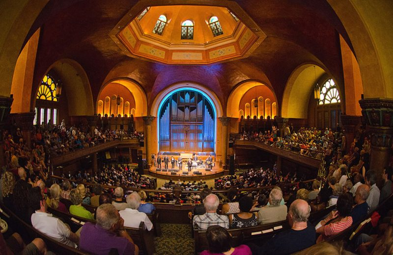 Dominion Chalmers United Church, one of the venues at the TD Ottawa Jazz Festival, 2013