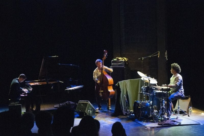 Vijay Iyer Trio in performance at the 2013 Montreal International Jazz Festival