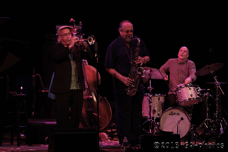 Sound Prints, featuring Joe Lovano and Dave Douglas, Town Hall, NYC, June 2013