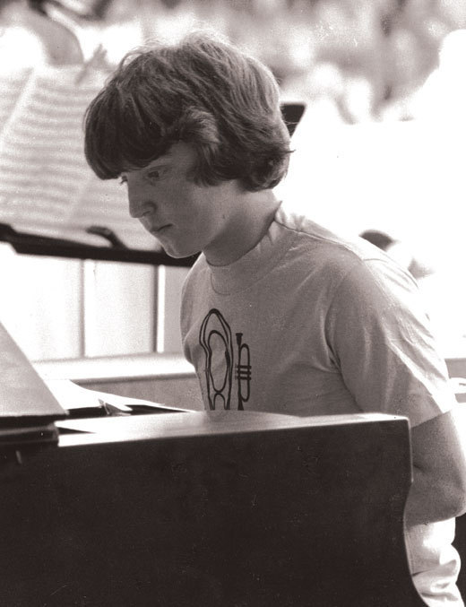 Benny Green at the Monterey Jazz Festival, 1978, age 15