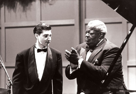 Benny Green with Oscar Peterson, 1993