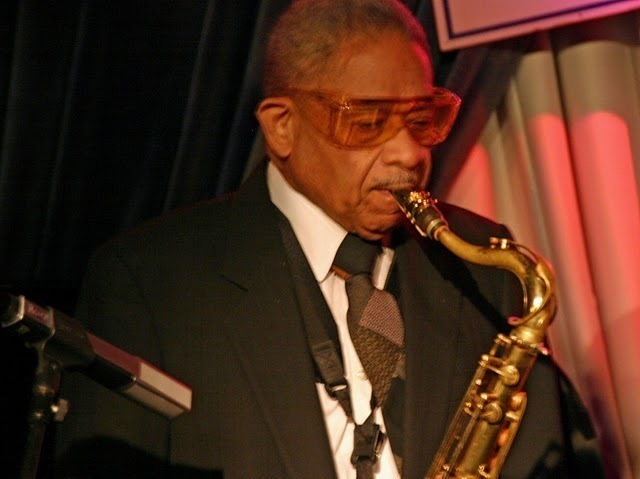 Frank Wess performing at the Concert to Benefit the James Moody Scholarship for Newark Youth