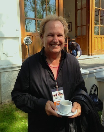 Lee Ritenour prior to press conference for International Jazz Day, Istanbul 4-13