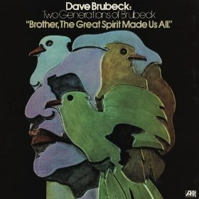 """Dave Brubeck's """"Brother, The Great Spirit Made Us All"""" LP"""