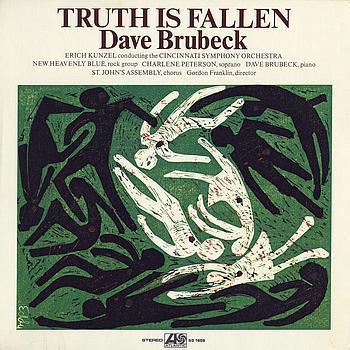 """Dave Brubeck's """"Truth is Fallen"""" LP"""
