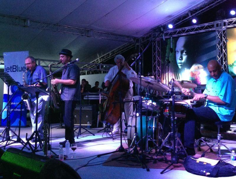 Marco Pignataro and group, Dominican Republic Jazz Festival, 2013