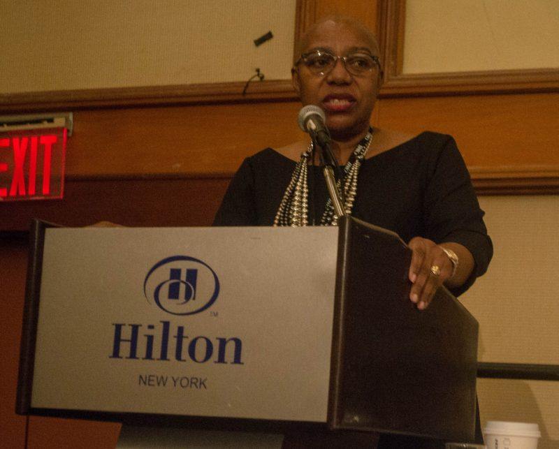 """Artist manager Gail Boyd moderated the panel """"The 21st Century Jazz Tour"""" at the 2013 Jazz oOnnect Conference in NYC"""