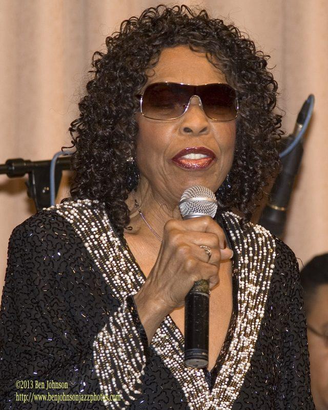Gloria Lynne in Philadelphia in 2007