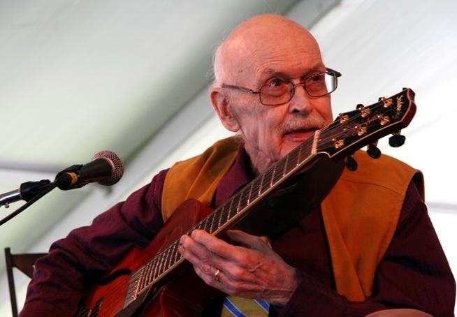 Jim Hall at Newport Jazz Festival, August 2013