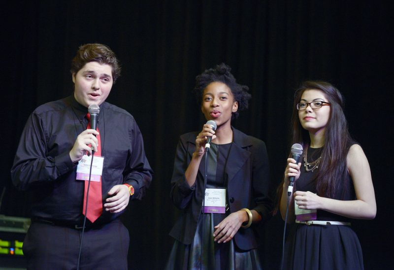Booker T. Washington Vocal Jazz Ensemble, JEN Conference, Dallas 2014