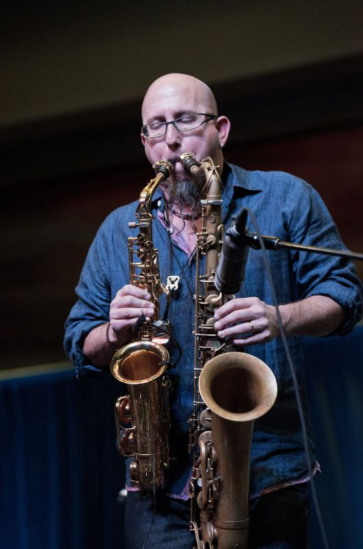 Jeff Coffin, JEN Conference, Dallas 2014