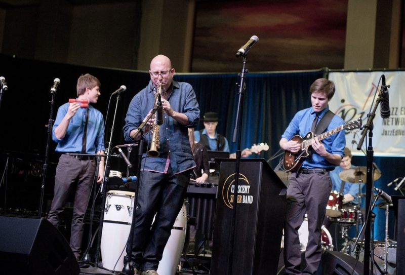 Jeff Coffin w. Caleb Chapman's Crescent Super Band, JEN Conference, Dallas 2014