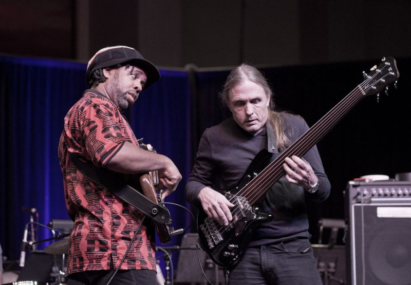 Bass Extremes – Victor Wooten and Steve Bailey, JEN Conference, Dallas 2014