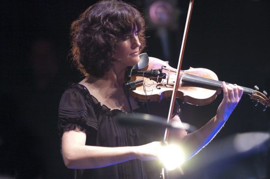 Jenny Scheinman in performance at the 2012 Guelph Jazz Festival image 0