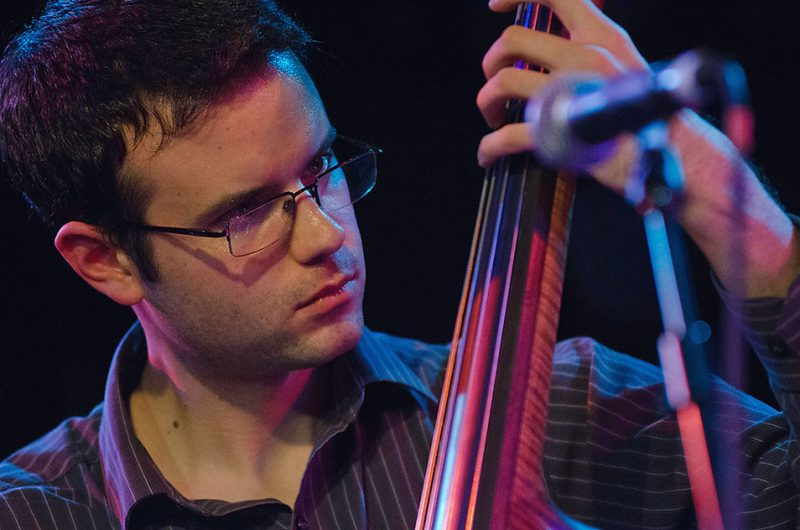 Evan Gregor performs with the Grace Kelly Quintet, Ottawa JazzFest Winter Series, 2-14