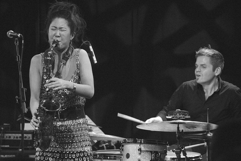 Grace Kelly with drummer Ross Pederson, Ottawa JazzFest Winter Series, 2-14