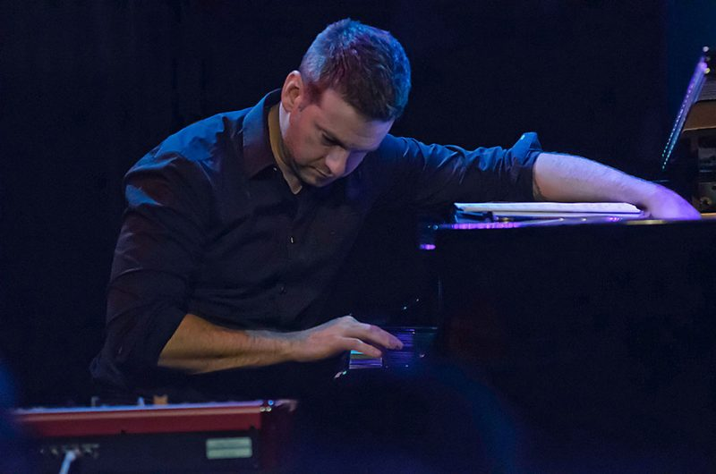Pianist David Cook performs with the Grace Kelly Quintet, Ottawa JazzFest Winter Series, 2-14