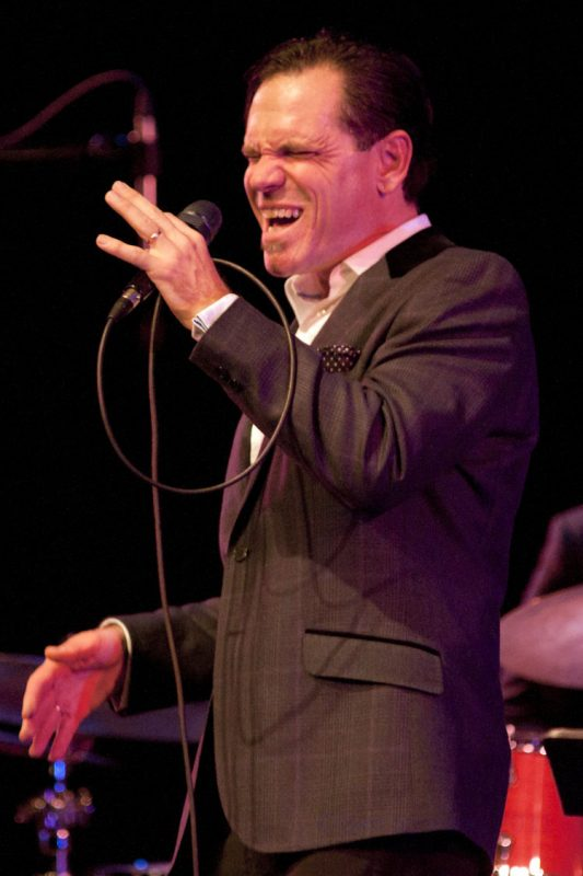 Kurt Elling in performance at Montgomery County Community College in Blue Bell, Pa.