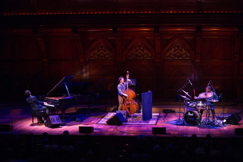Vijay Iyer, piano, with Stephan Crump on bass and Marcus Gilmore on drums, Cambridge, Mass. 3/14