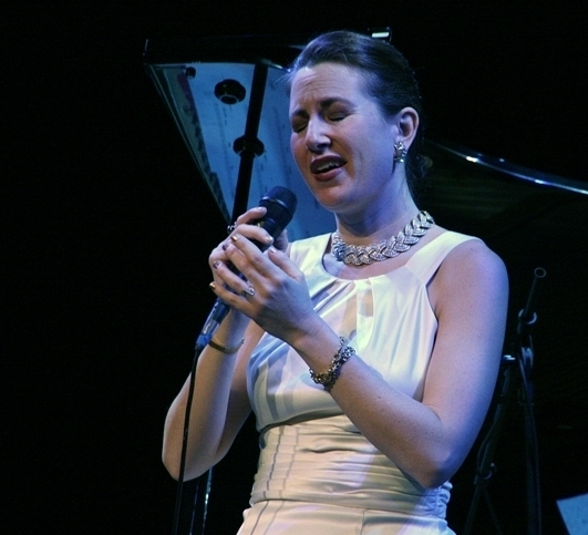 Alexis Cole, Sarasota (Florida) Jazz Festival 2014