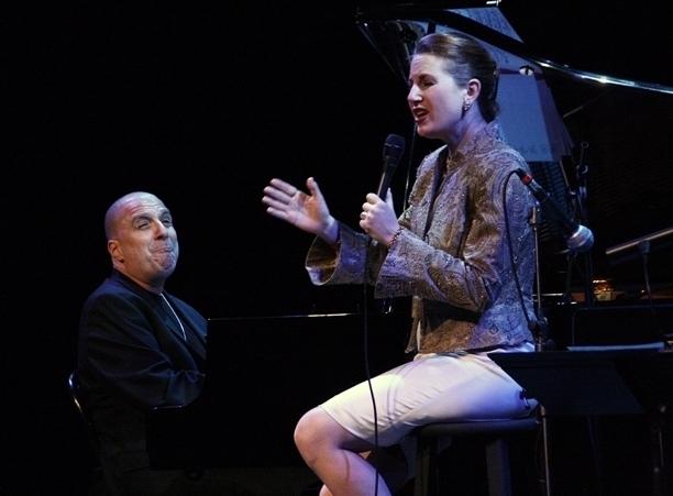 Alexis Cole with pianist John di Martino, Sarasota (Florida) Jazz Festival 2014