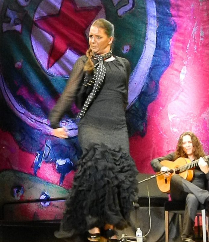 Paloma in performance at the 2014 Puerto Rico Heineken Jazz Festival