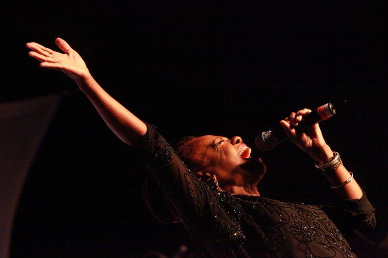 "Catherine Russell in ""Ladies Sing the Blues,"" Savannah Music Festival 2014"