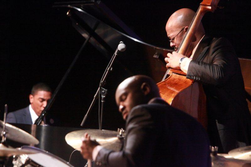 Christian McBride Trio (Christian Sands, Christian McBride, Ulysses Owens Jr., Savannah Music Festival 2014