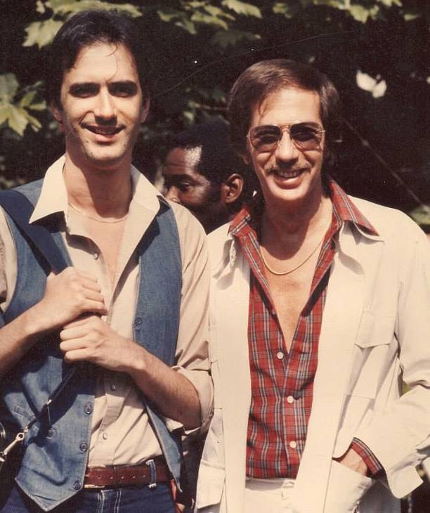 Michael Brecker (l.) and Steve Backer