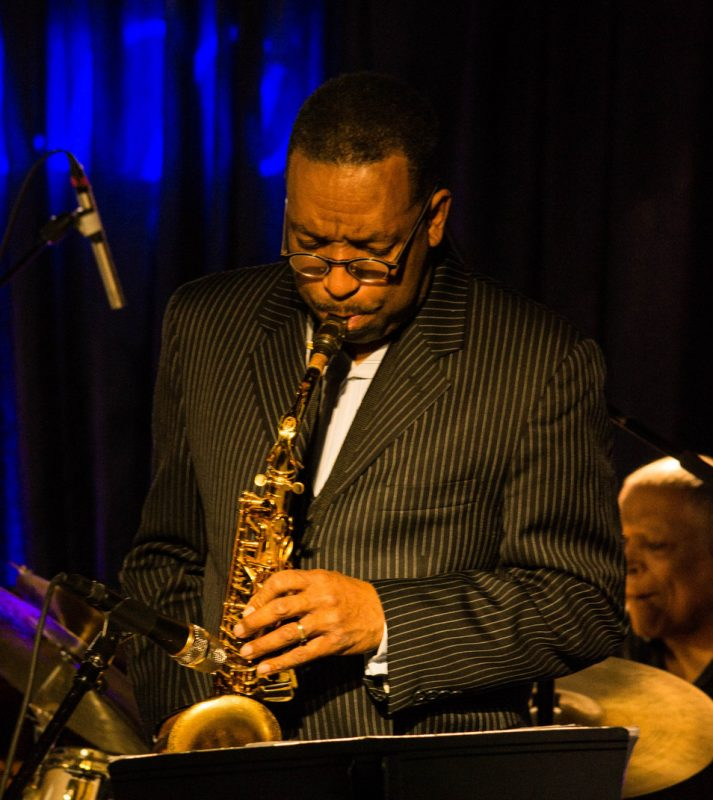 Donald Harrison with the Cookers, Iridium, NYC 4-14