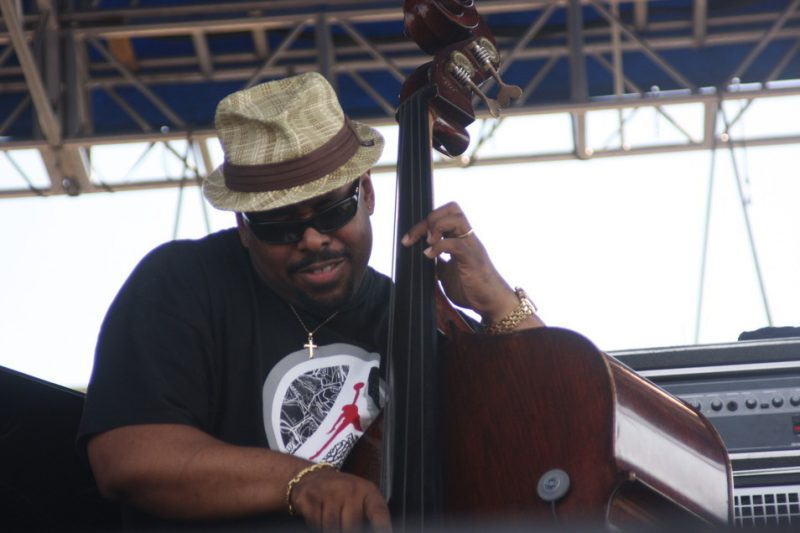 Christian McBride performing with Chick Corea's Freedom Band at CareFusion Newport Jazz Festival 2010