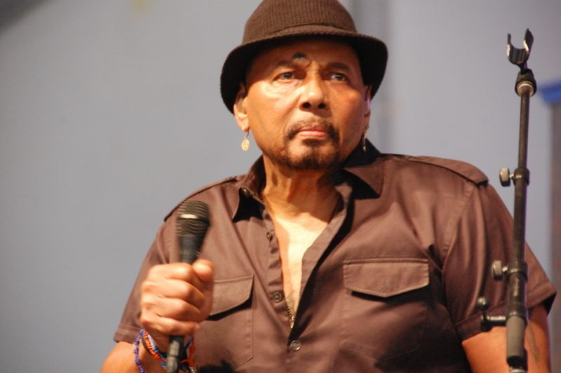 Aaron Neville at the 2014 New Orleans Jazz & Heritage Festival