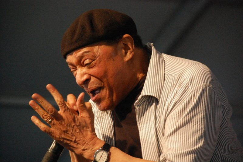 Al Jarreau at the 2014 New Orleans Jazz & Heritage Festival