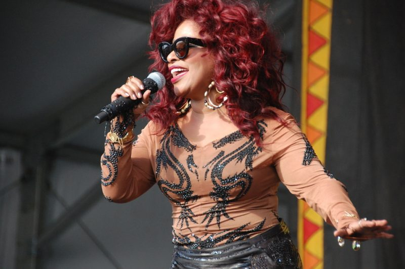 Chaka Khan at the 2014 New Orleans Jazz & Heritage Festival