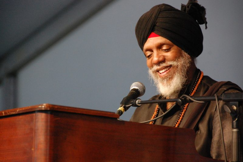 Dr. Lonnie Smith at the 2014 New Orleans Jazz & Heritage Festival
