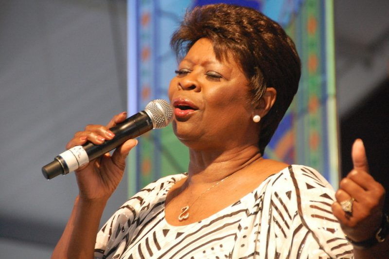 Irma Thomas at the 2014 New Orleans Jazz & Heritage Festival