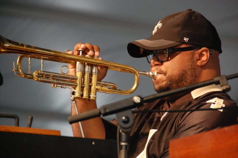 Nicholas Payton at the 2014 New Orleans Jazz & Heritage Festival