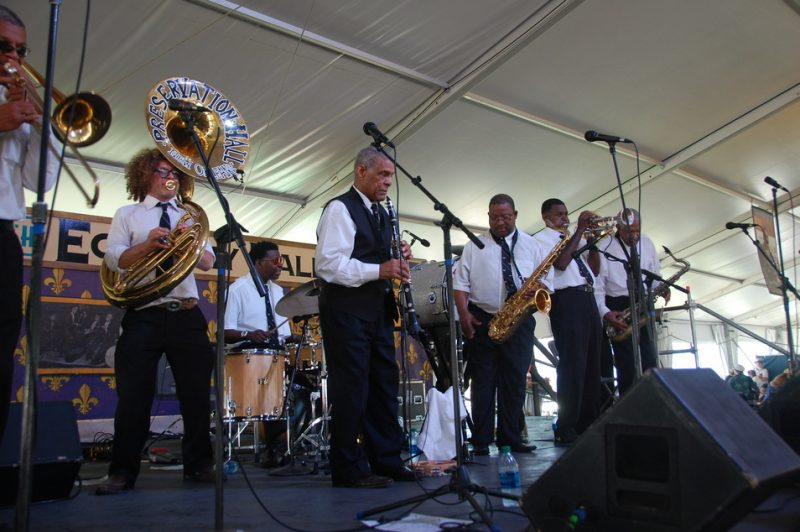 Preservation Hall Jazz Band at the 2014 New Orleans Jazz & Heritage Festival