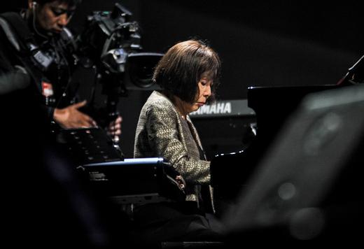Toshiko Akiyoshi, International Jazz Day, Osaka, Japan, April 30, 2014
